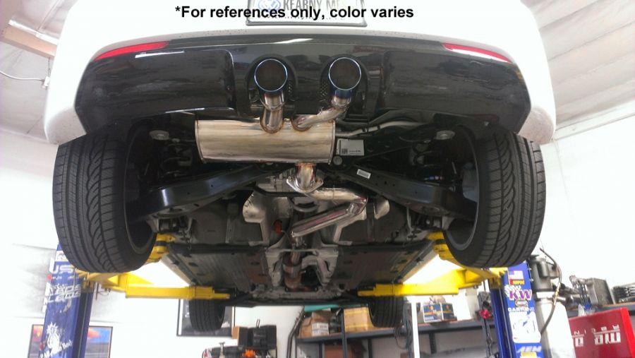 Volkswagen Golf R 2 0 Turbo 12-13 - Burnt Rolled Tips - Turbo Type -  MR-CBS-VWGR12-VO