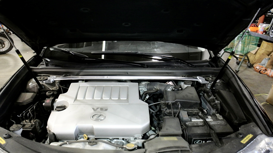 Toyota Camry 12-14 / Avalon 13-16 / Lexus ES350 13-18 Front Upper Race-Spec  Strut Tower Bar - MR-SB-TCA12FU-1P