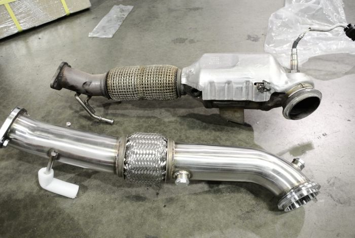 Ford Focus ST 2013+ Turbo Downpipe (excludes RS model) - MR-SSDP-FF13ST